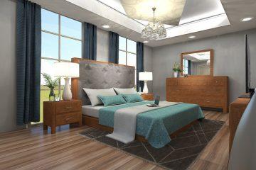 natuurtinten slaapkamer