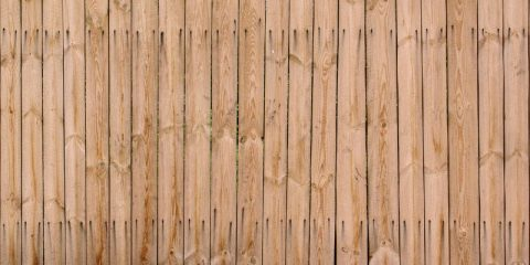 hardhouten schutting onderhouden