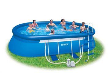 ovale intex zwembad