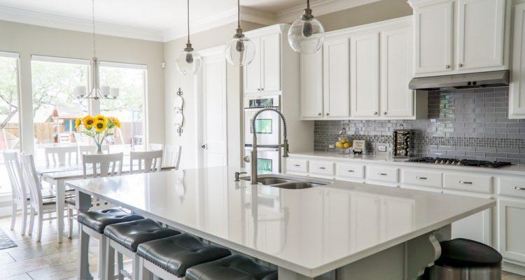 Dubbel glas in de keuken