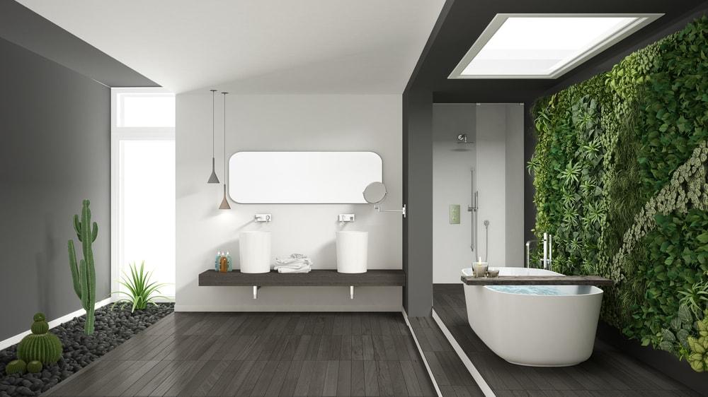 planten badkamer