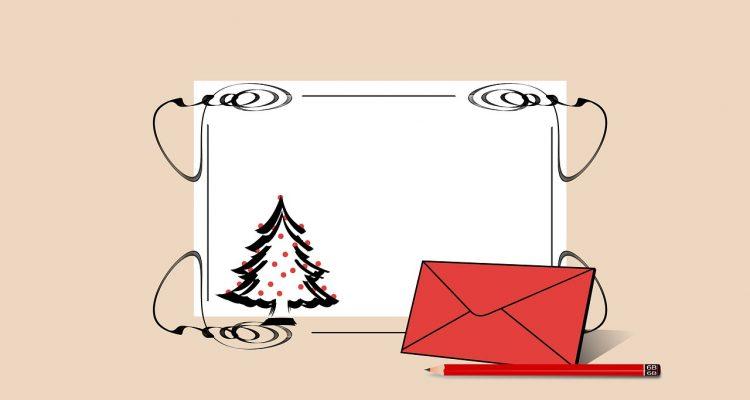 Kerstkaartenstress? Zo kies je de juiste enveloppen