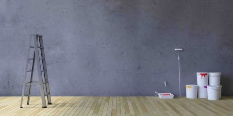 Geef je huis een stoere uitstraling met een betonlook muur