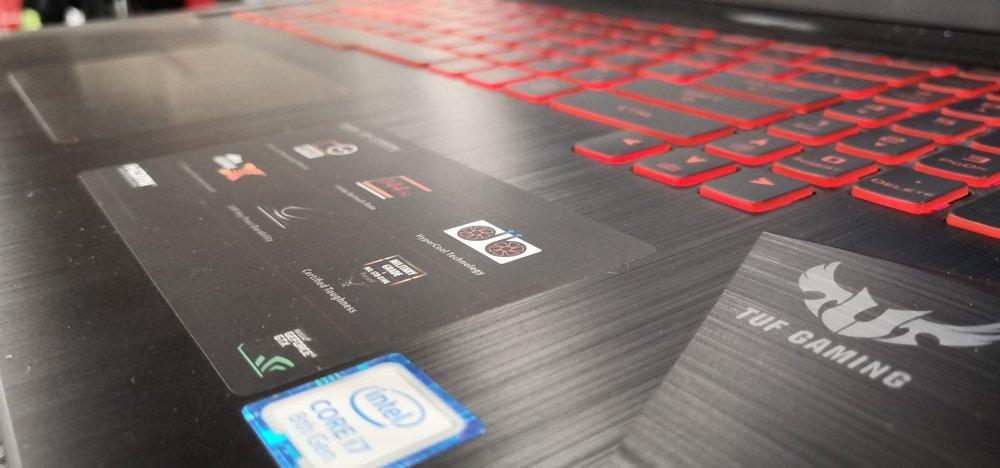 gaming laptop videokaart